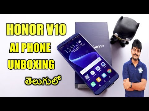 Honor View 10 Unboxing & initial impressions ll in telugu ll