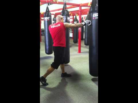Kickboxing 101 - Jab, Straight, Hook, Elbow with Dan Westbrook Image 1