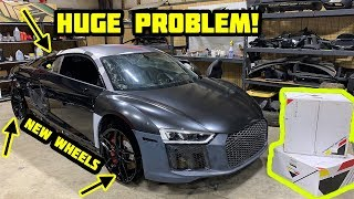 Rebuilding a Wrecked 2018 Audi R8 Part 7