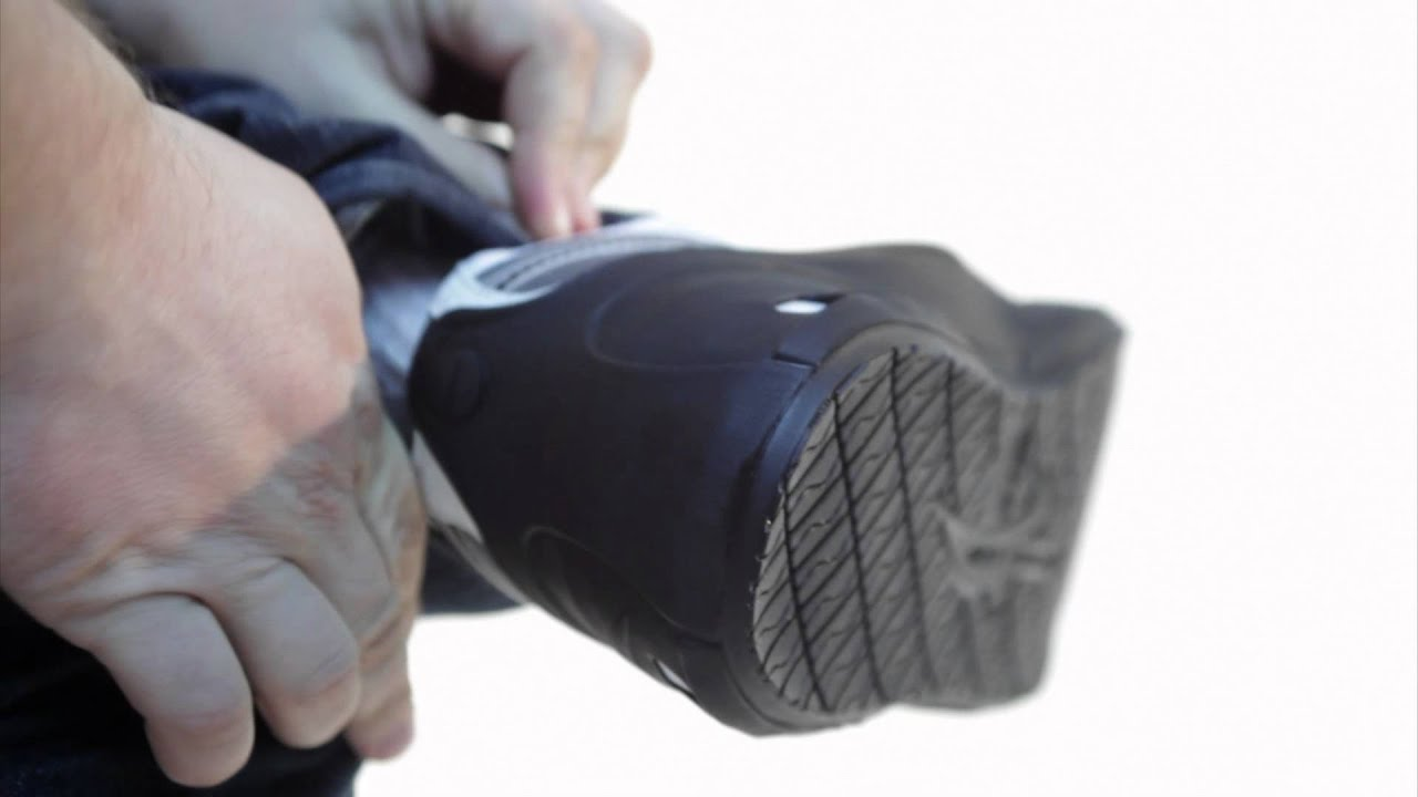 Non Slip Overshoes By Tiger Grip Eng Youtube