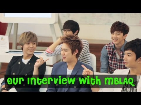 "Eat Your Kimchi Interviews ""MBLAQ"""