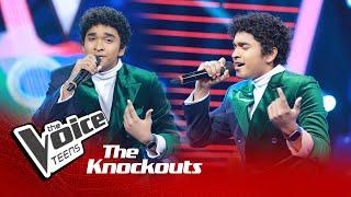 Sandeep Lamasuriya | 10,000 Hours | Knockouts | The Voice Teens Sri Lanka