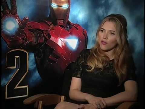Scarlett Johansson - Interview Iron Man 2