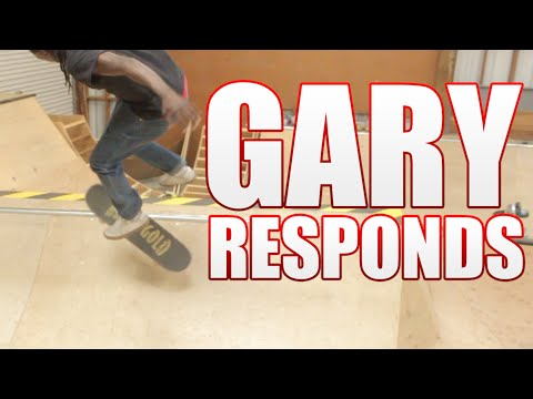 Gary Responds To Your SKATELINE Comments - Skater XL, Jerry Hsu, Nollie Heel Front Blunt NBD