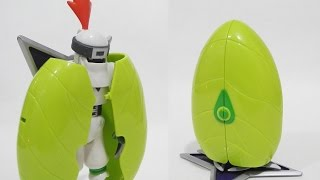 [Quick]Shurimon(シュリモン)to Digi-Egg/Digimental of Sincerity(純真のデジメンタル)-Digital Monster Toy Review
