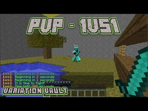 Minecraft Bukkit Plugin - PVP 1VS1 - The safe way to battle