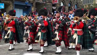 download lagu Royal Regiment Of Scotland Parade 2016 gratis