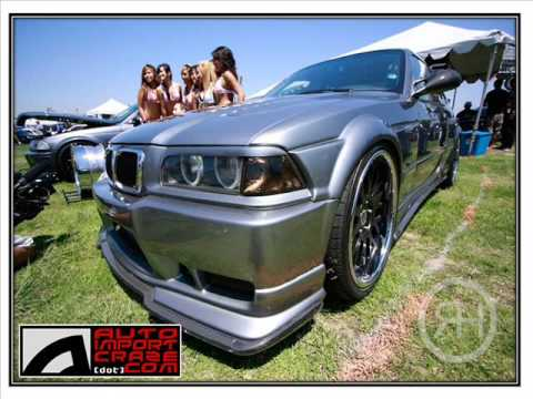 BMW E36 M3 Wide Body Kit
