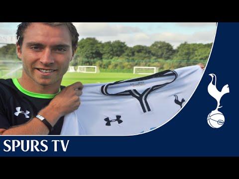 Spurs TV Exclusive |  Christian Eriksen's first interview as a Tottenham player