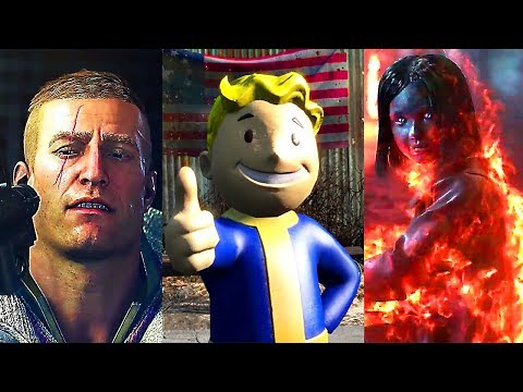 E3 2017 : All BETHESDA Games Trailers (Conference Highlights Compilation)