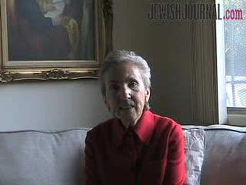 Holocaust Survivor Eva Brown Tells Her Story