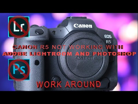 Canon EOS R5 Not working with Lightroom or photoshop work around with DPP4 and DNG Converter
