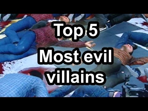 Top 5 - Most evil villains in gaming