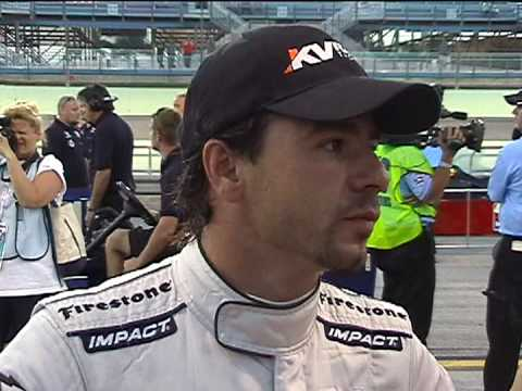 Oriol Servia Post-Qualifying Interview Video