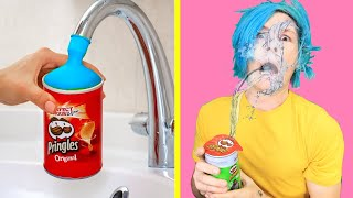 Trying TOP SIBLING PRANKS! Trick Your Sisters and Brothers Funny DIY Pranks by 123 GO!