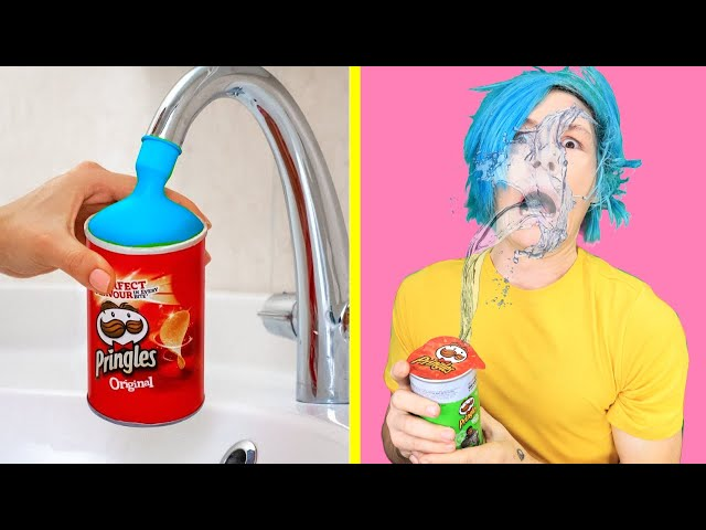 Trying TOP SIBLING PRANKS! Trick Your Sisters and Brothers Funny DIY Pranks by 123 GO! thumbnail