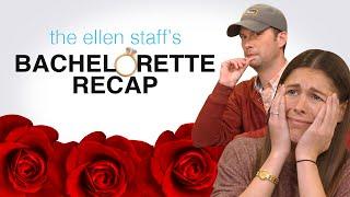 The Ellen Staff's 'The Bachelorette' Recap: Ellen Show Group Date + Booger Rolls