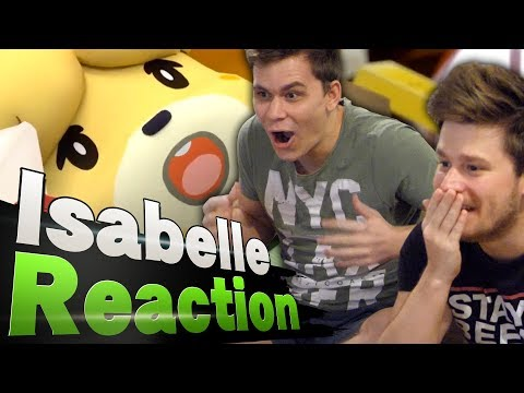 Beefy Smash Doods react to Isabelle in Smash Ultimate