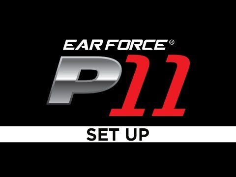 Turtle Beach® Ear Force­­® P11 - PS3™ Gaming Headset - SETUP VIDEO