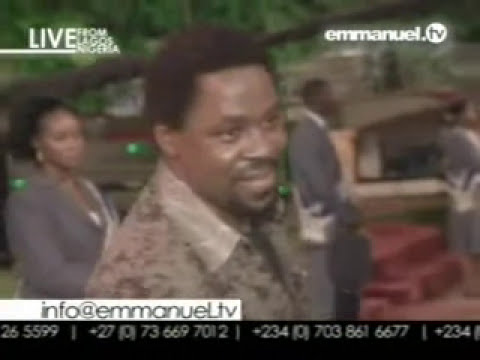 tb joshua  words of knowledge