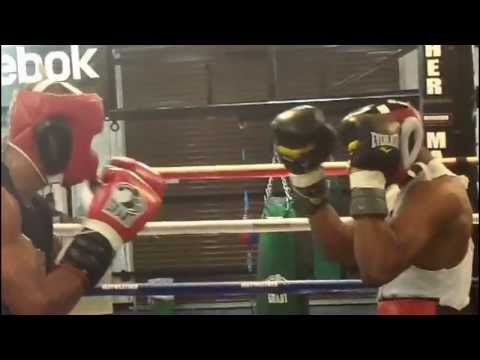 Sparring at the Mayweather Boxing Club: J'Leon Love steps in to face Ismayl Sillakh Image 1