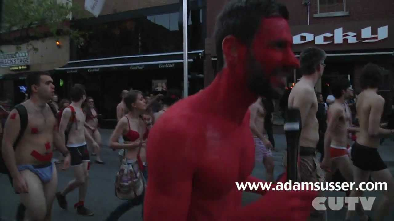 Nude Protest Teaser - An Evening to Remember with Adam Susser
