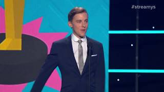 Jon Cozart: Influencers Not Using their Influence for Good - Streamy Awards 2017