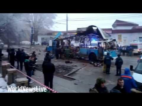 EXCLUSIVE BLAST VIDEO Second Russian Trolleybus Suicide Bo