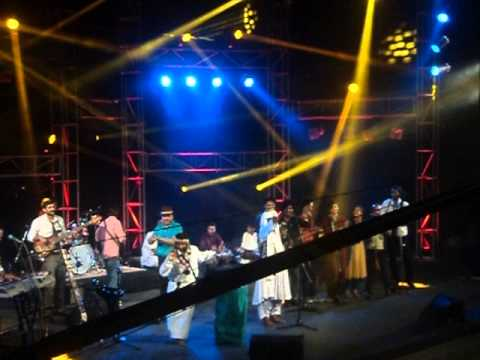 Akhtar Chanal Performing Dane Pe Dana Live at NAPA 8th Sep 13...