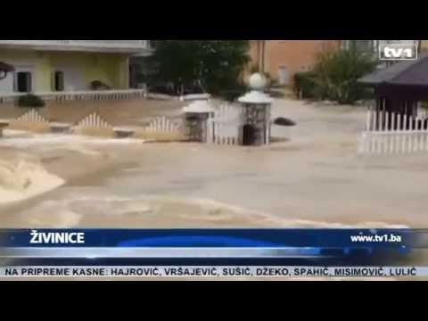 Bosnia hit by worst floods in a century (TV1 15.05.2014)