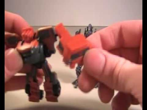 Transformers Revenge of the Fallen Legends Mudflap and The Fallen Review