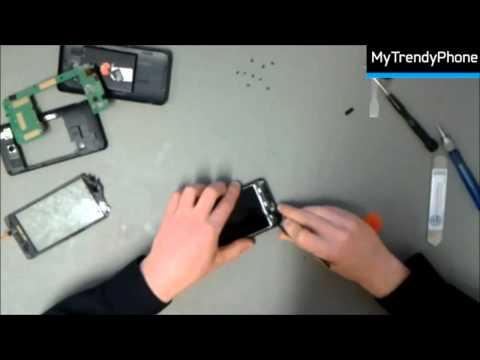 Reparación de la pantalla de cristal y táctil del Huawei Ascend G510