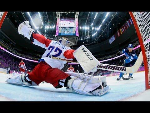 Лучшие хоккейные сэйвы  вратарей