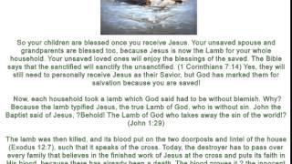 Joseph Prince 4 20 Jesus Our True Passover Lamb  6 4 2014 AVI