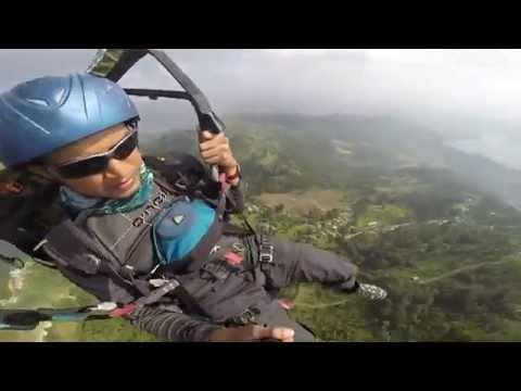 Paragliding,  Pokhara, Nepal - 11Nov14.