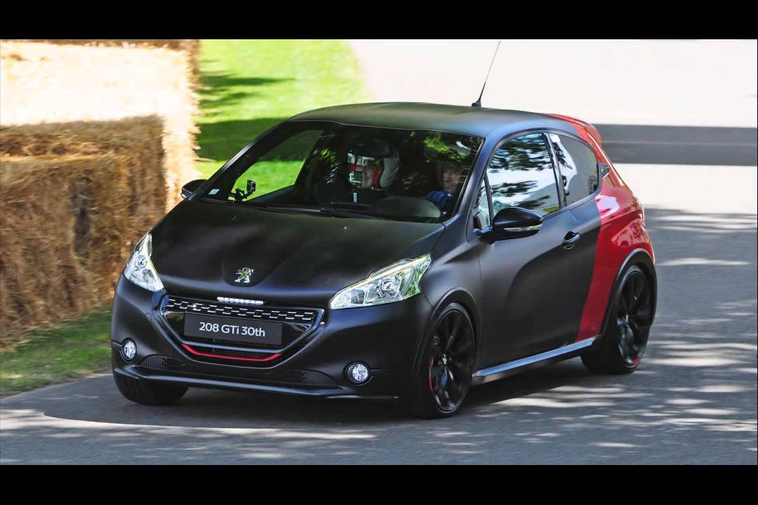 peugeot 208 gti 30th anniversary edition youtube. Black Bedroom Furniture Sets. Home Design Ideas