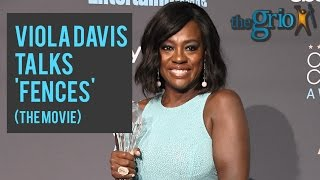 Viola Davis reveals Denzel Washington's advice to her before they filmed 'Fences'