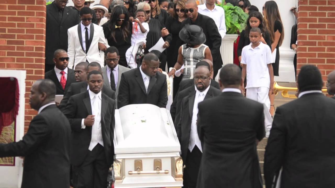 Exclusive: Funeral services for Kile Glover - YouTube