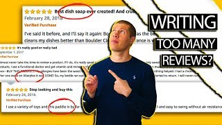 How to Handle Writing a lot of Amazon Reviews [Cashback Arbitrage]