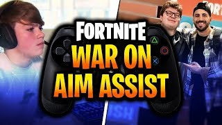 Aim Assist Is RUINING The Fortnite Community *WHY PRO PLAYERS ARE HATING EACH OTHER*