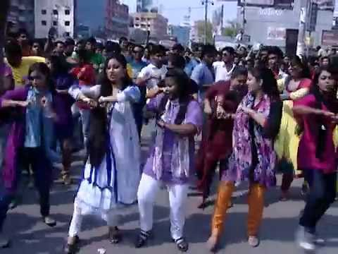 ICC World T20 2014 Flash Mob UTTARA UNIVERSITY Official