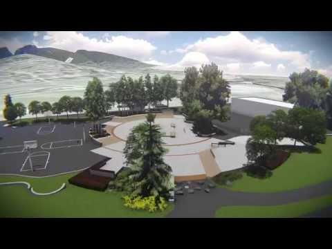 Ambleside Skatepark - Vancouver, BC - 3D Model