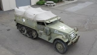 1943 White M-3 Half Track Troop Carrier on GovLiquidation.com