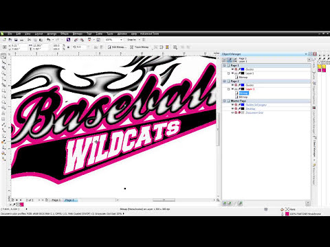 High-End T-Shirt Color Separations in CorelDRAW with Bitmaps
