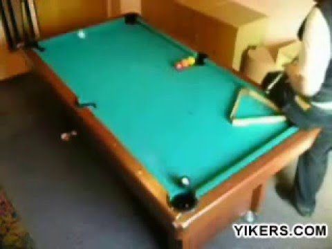 Billiard trick shots