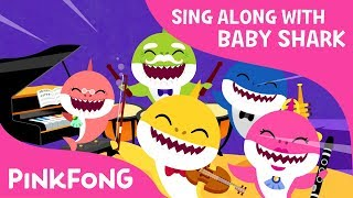 Shark Orchestra Concert | Sing Along with Baby Shark | Pinkfong Songs for Children