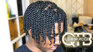 QTHEBRAIDER| HOW TO: Double Strand Twist (Male Edition)