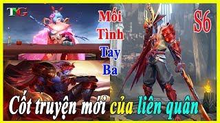 Liên quân mobile Cốt truyện mới hé lộ Yorn YÊU Krixi và Ryoma đại tướng nguyệt tộc YÊU Airi kiemono