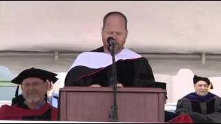 Joss Whedon commencement speech, Wesleyan class of 2013