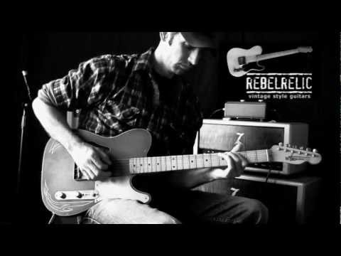 Jason Hobbs Instrumental on his RebelRelic Raw Series Thinline Music Videos